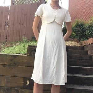 Girl's My Michele White Dress